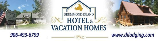 Drummond Island Hotel & Vacation Homes Location