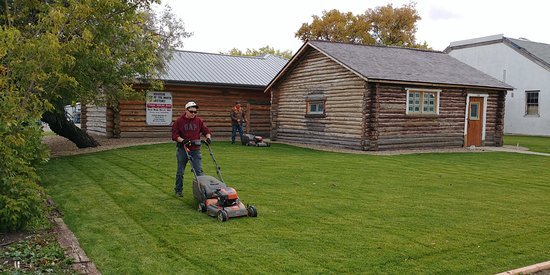 The S.W. Sask. Oldtimers' Museum has recently restored the 1935 Log Museum which is a designated Municipal Heritage Property in Maple Creek, Saskatchewan.