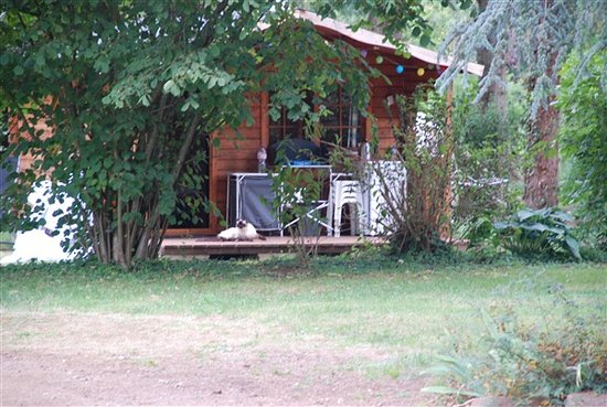 Entrance - Picture of Camping Neuville (Camping le Vieux Moulin), Le Mans City - Tripadvisor