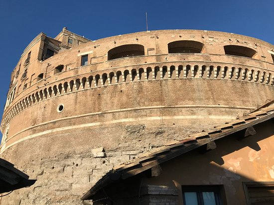 Museo Nazionale di Castel Sant'Angelo: Exterior Inside the Grounds.