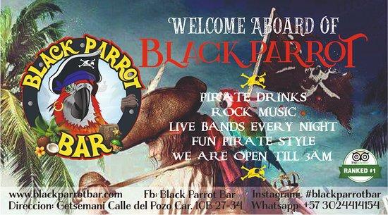 Black Parrot Bar