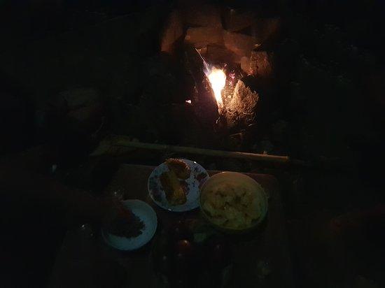 Dak Nong Province, Vietnam: night time ( camping - bbq- chat )