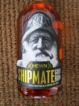 Hewn Spirits: Bottle of Hewn Spirts Shipmate Gold Rum