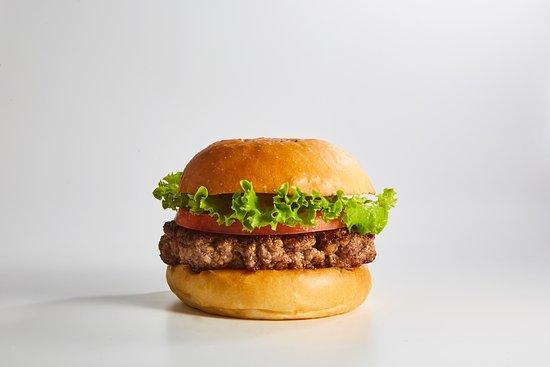 hamburger single patty)