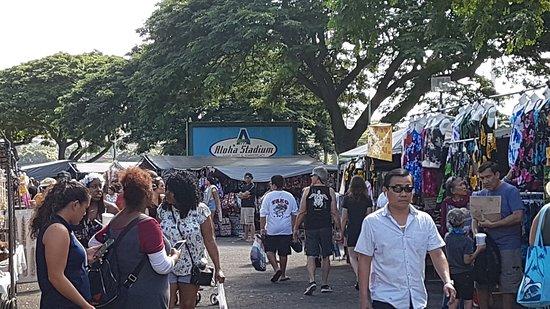 Loads of stalls