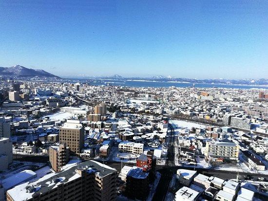 Goryokaku Tower: 向きがわからない💦