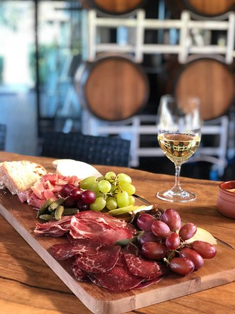Indulge in one of our freshly made cheese or charcuterie boards