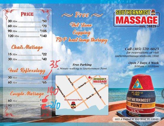 Southernmost Massage