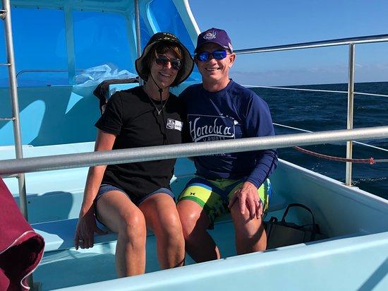 Catamaran Kahanu : On the boat today!