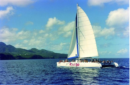 St Lucia Full-Day Catamaran...