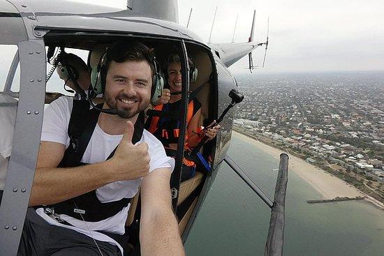 Melbourne Selfie Hubschrauber...