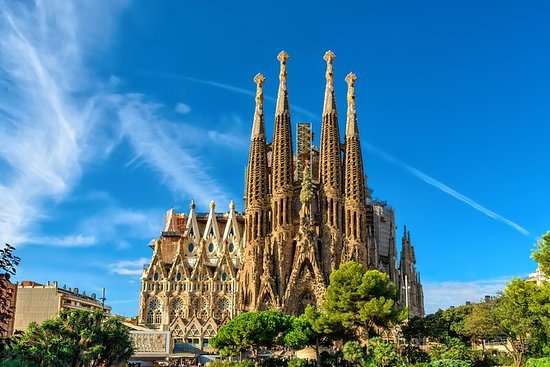 Barcelona Sagrada Familia et Montserrat...