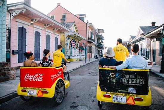 Tour del Pedicab nel Quartiere