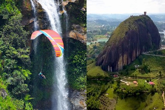 AWESOME PARAGLIDING AND FREE GUATAPE...
