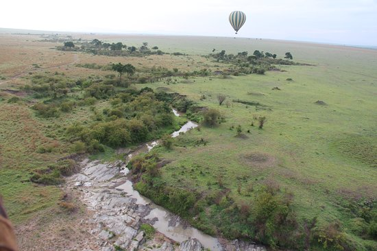 African Comfort Zone Safaris: Hot Air Balloon Maasai Mara, Kenya 🇰🇪