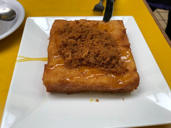 French Toast with Pork Floss