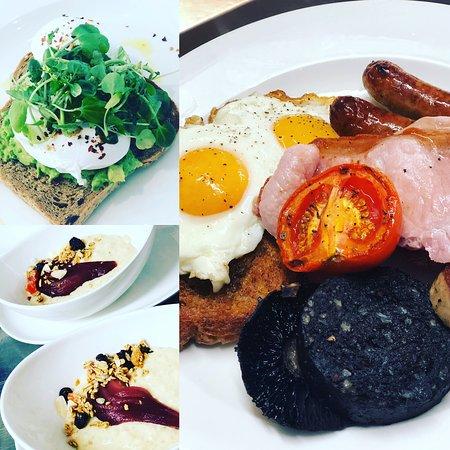 Whalley, UK: Breakfast
