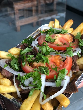 Doner on Fries