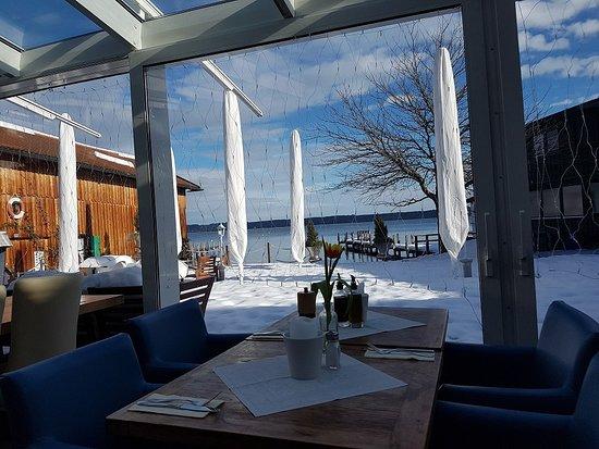 Tutzing, Alemanha: Idyllischer Blick auf den Starnberger See