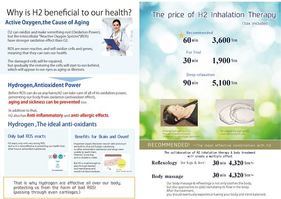 MAITRII, H2 Inhalation Therapy & relaxation: Engrish Flyer2