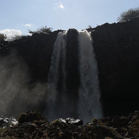 Blue Nile Falls: Blue nile fall Ethiopia! fascinating paaaaa...