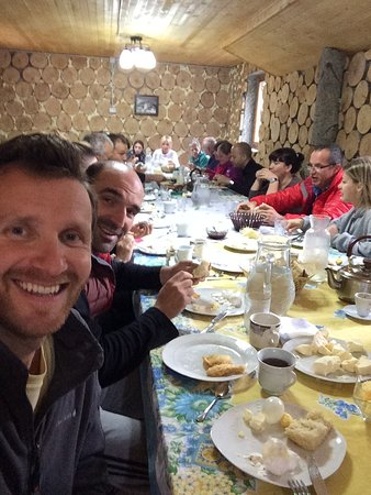 Pristina, Kosovo: Breakfast with the group, before heading to explore Theth.