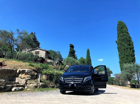 Panzano in Chianti, Italie : A professional and friendly shuttle service all around Tuscany.