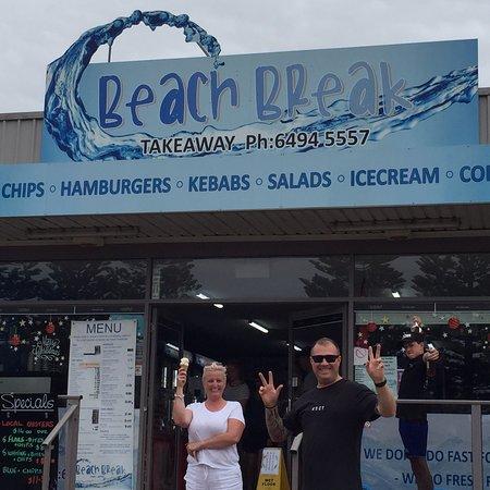 Beach Break Tathra: Beach Break Takeaway Tathra NSW