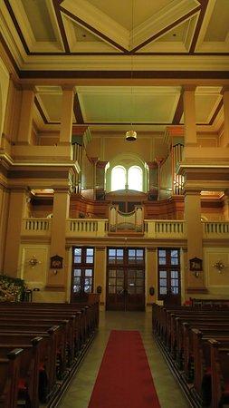 Органная часть храма
