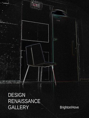 Brighton and Hove, UK: DESIGN RENAISSANCE GALLERY / Pierre GUARICHE chair circa 1950 / Black limited series