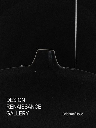Brighton and Hove, UK: DESIG RENAISSANCE GALLERY / Brighton & Hove / Jacques BINY floor lamp circa 1950 / Black limited series