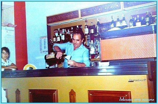 Solarussa, Italien: Le origini, 1971, Tziu Gigliu con Gualtiero.