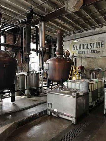 the distillation equipment