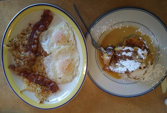 Johnston, IA: Butter Rum French Toast (missing the Rye Toast)