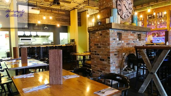 Fort Frances, Canadá: Restaurant Interior