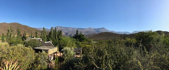 Ladismith, Sudáfrica: Spectacular view from my room