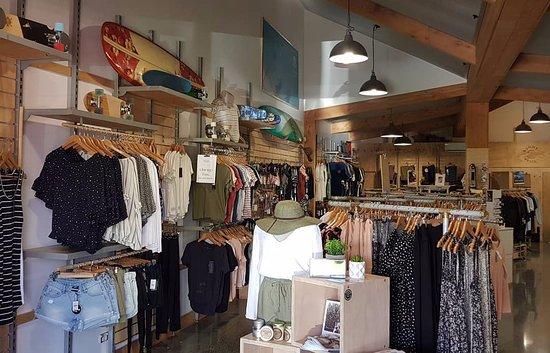 Summer Sessions store in Matakana.