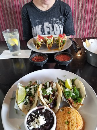 Tacos (lunch menu)