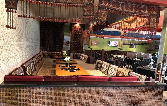 Chopan Kabob House: Sitting Place