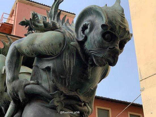 Fontana dei Mostri Marini - Fontane del Tacca: particolari