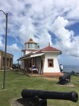 Fort King George front of light house