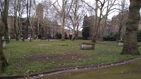 Grounds of St Pancras Old Church
