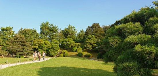 Kyoto - Burg Nijo-jo - Garten