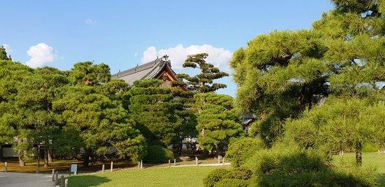 Kyoto - Burg Nijo-jo - Blick auf den Wohnpalast Ninomaru