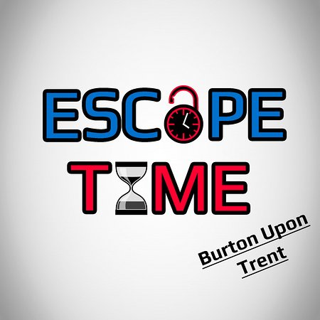Escape Time - Burton upon Trent Logo - Live escape room game burton
