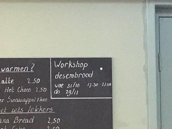 Zwanenburg, Nederland: Ook workshops