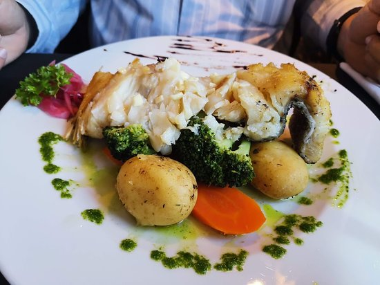 Restaurante Metamorphosis: Bacalhau.