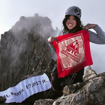 7 일 케냐 하이킹 (암벽 등반) 사진