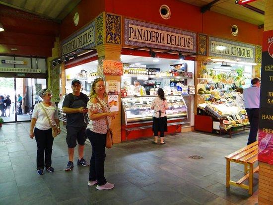 Mercado de Triana: NO INTERIOR DO MERCADO