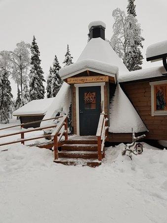 Hut for warm juice
